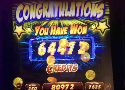 Slot Big Win!